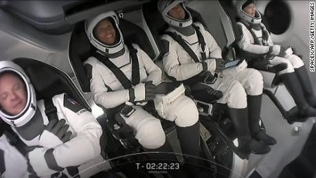 SpaceX launches four people to orbit in company