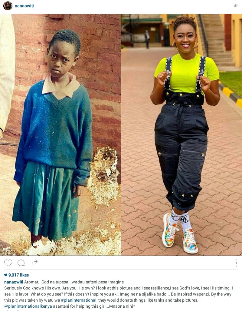 """""""I look at this picture and I see God?s love"""" - Kenyan woman shares her transformation"""