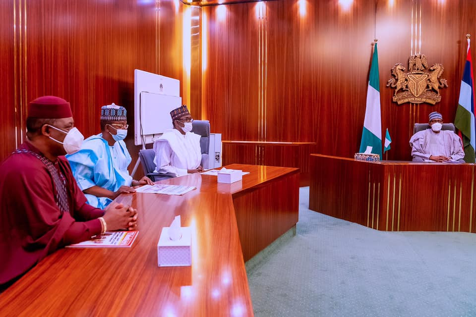 Femi Fani-Kayode meets President Buhari as it is announced he has defected to APC (photos)