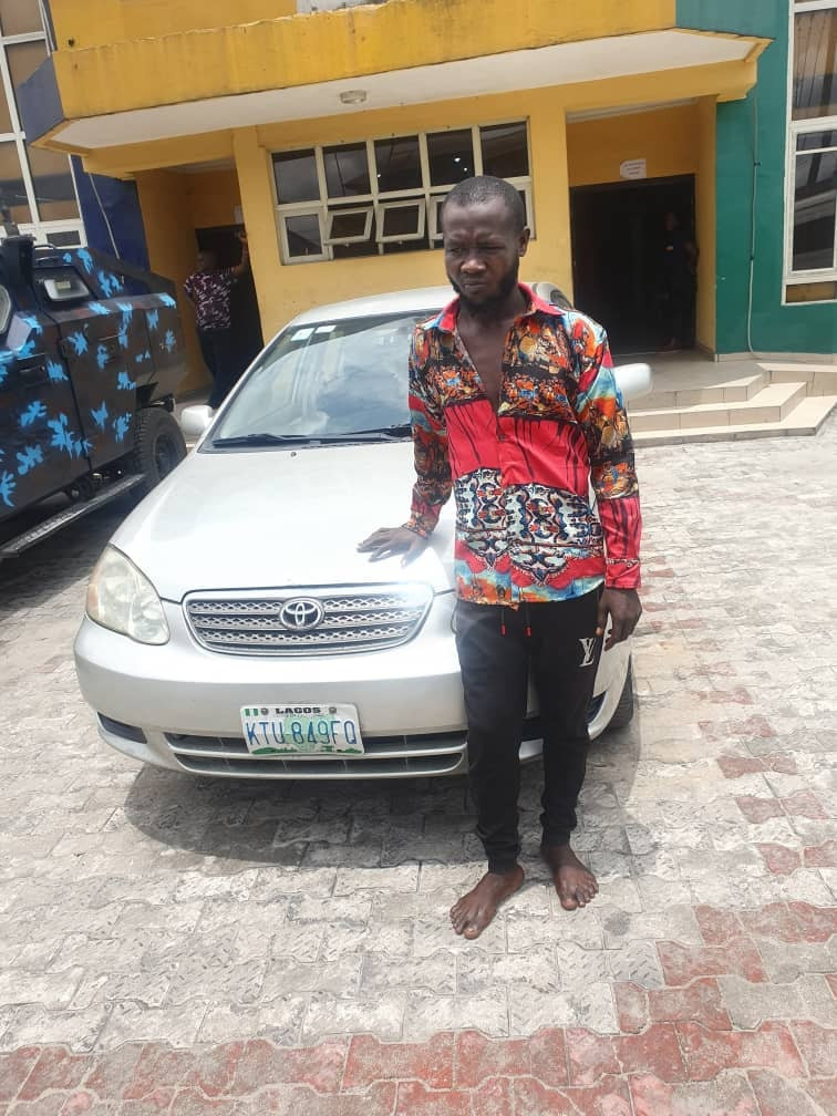Suspect arrested as Rivers police smash notorious car snatching syndicate that specialised in robbing Bolt/Uber drivers