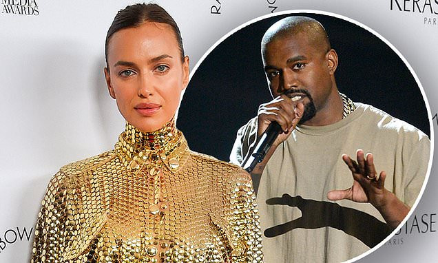 Irina Shayk dodges question about Kanye West weeks after