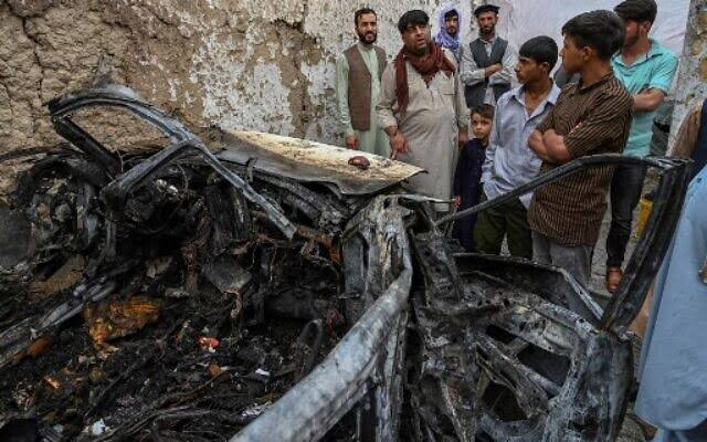 US military chiefs apologize after finding out drone strike meant to kill ISIS-K terrorists killed 10 civilians including children in Kabul