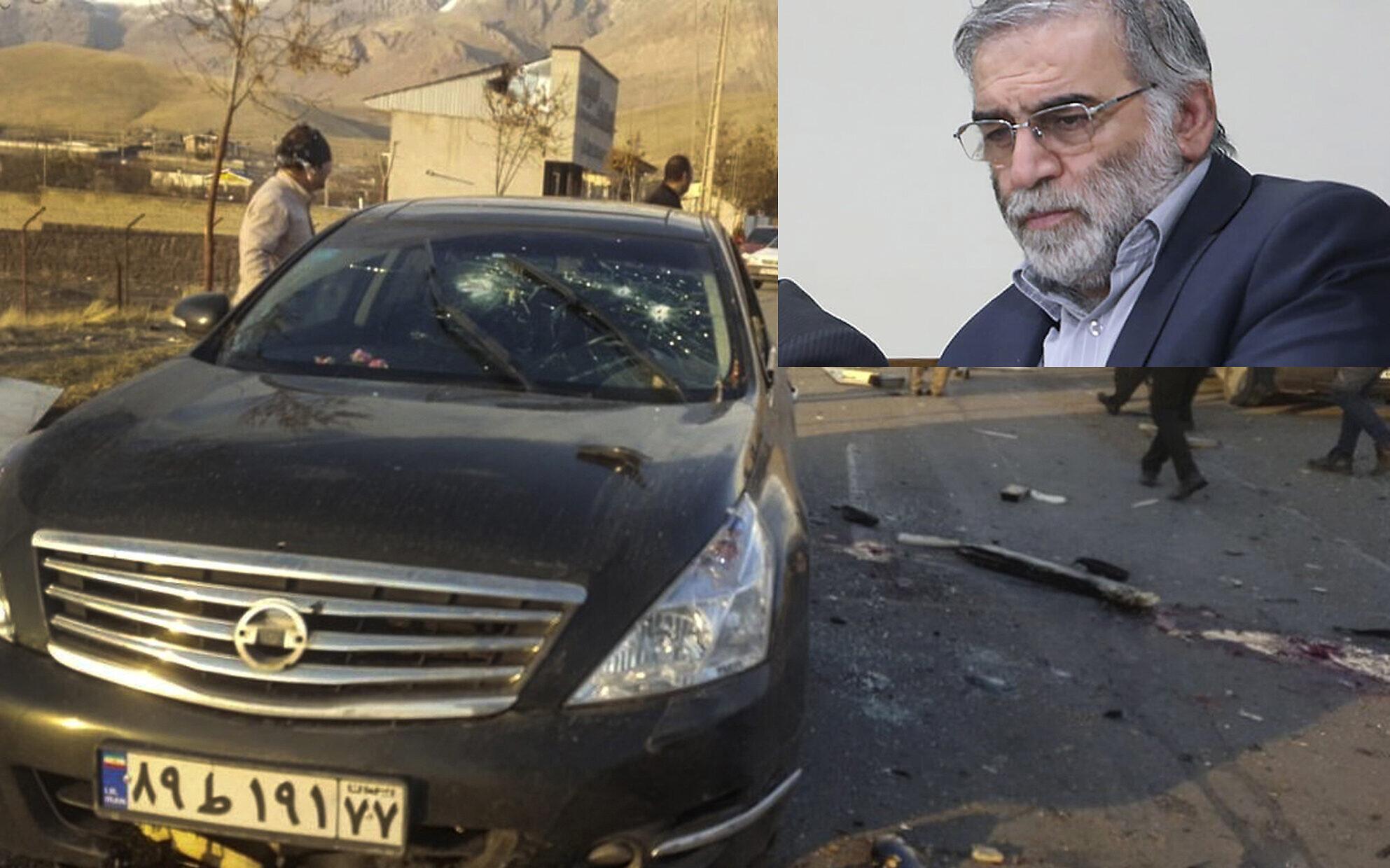 Israël aurait utilisé une mitrailleuse télécommandée pour assassiner le meilleur scientifique nucléaire iranien