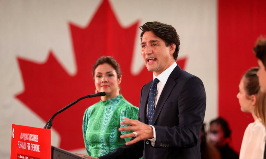 Canada Prime Minister Justin Trudeau wins re-election but falls short of a majority