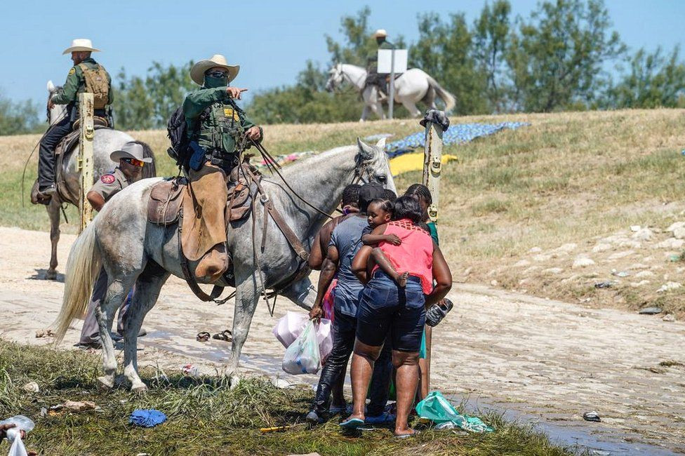 White House condemns border guard use of whip-like cord against Haitian migrants after it sparked