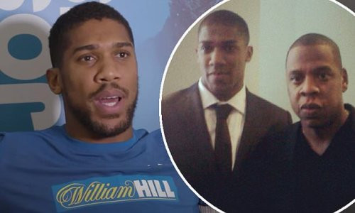 Anthony Joshua feared Jay-Z was going to punch him at a Will Smith movie premiere