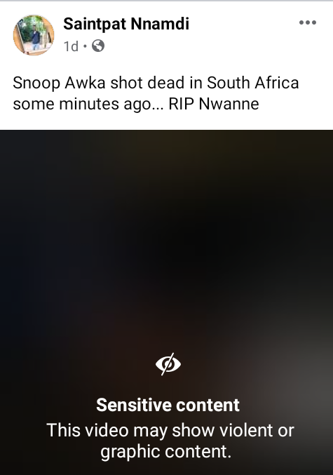 Nigerian man shot dead in South Africa