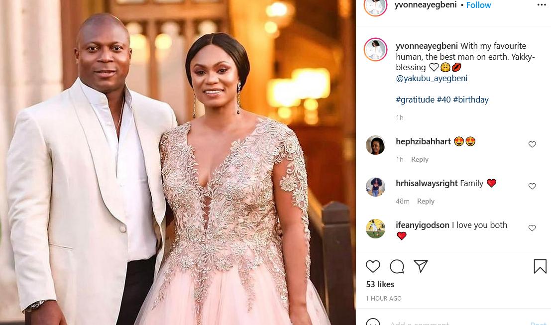 Footballer, Yakubu Aiyegbeni's wife gushes as she shares lovely family photos 4