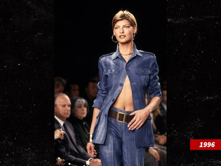 Supermodel Linda Evangelista says she was left