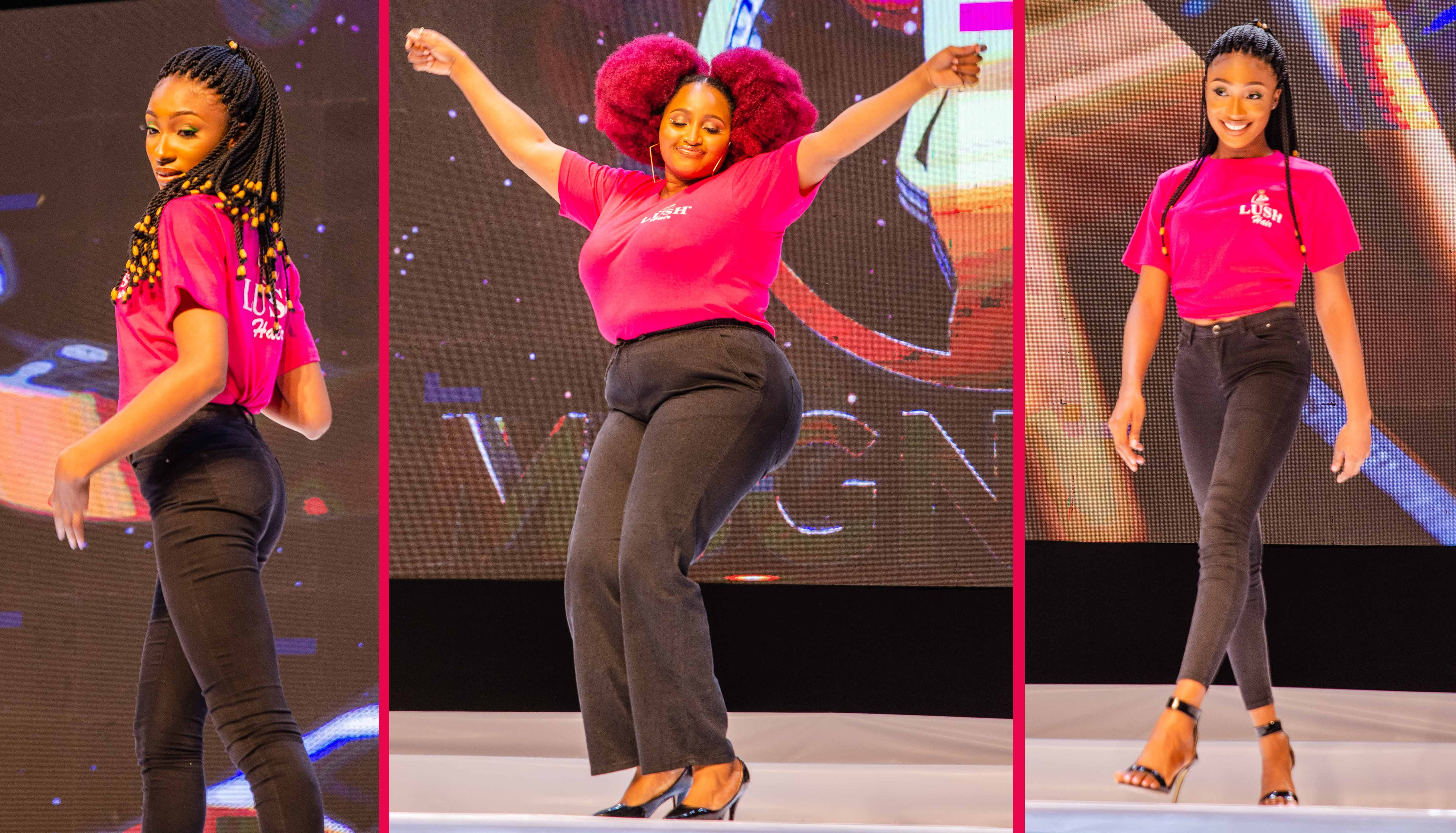 Miss. Lagos of 2021 MBGN Pageant Crowned Lush Hair Ambassador