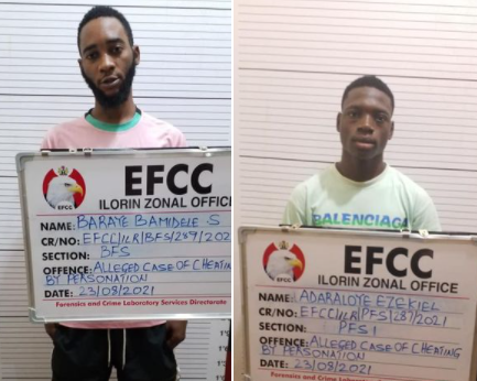 Court jails Kwara footballer and one other for Cybercrime