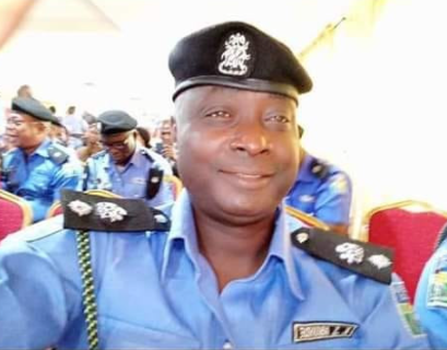 Photos of police officer hacked to death by rioting commercial motorcyclists in Lagos