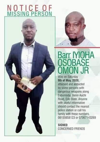 Police arrest five suspects involved in abduction and brutal murder of Edo lawyer