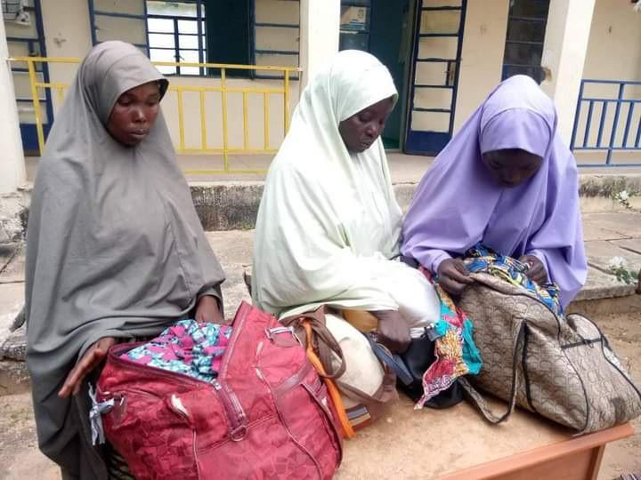 Police arrest three female members of syndicate supplying fuel to bandits in Katsina