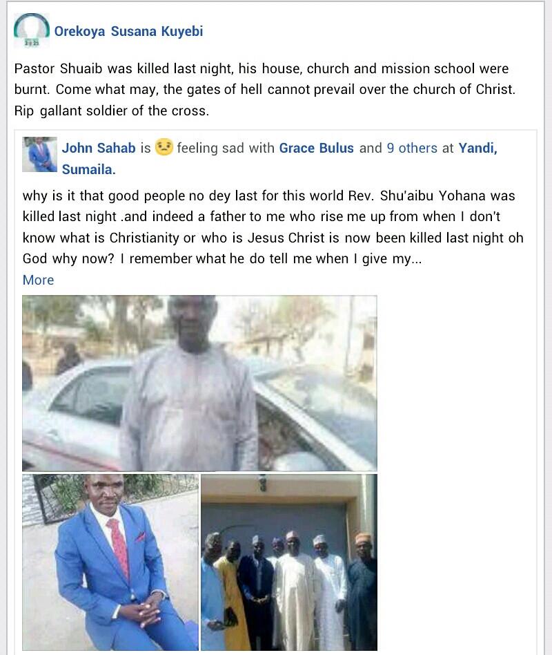 Muslim mob allegedly kills pastor, razes his house, church, mission school in Kano village