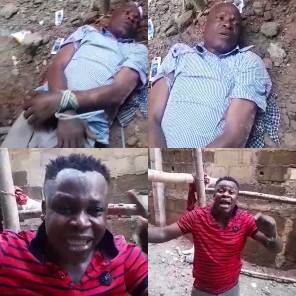Lagos police rescue debtor tied up by his creditor over unpaid N4.6m debt (video)