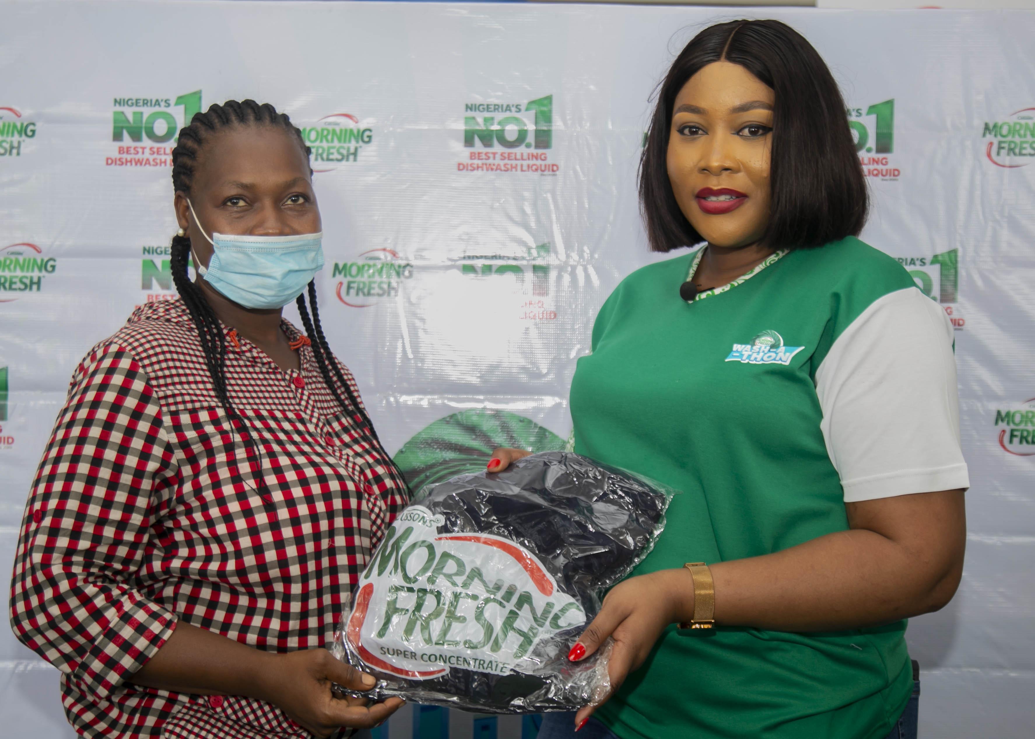 Diary of a Kitchen Lover, Tolani tours Nigeria with the Morning Fresh Washathon train
