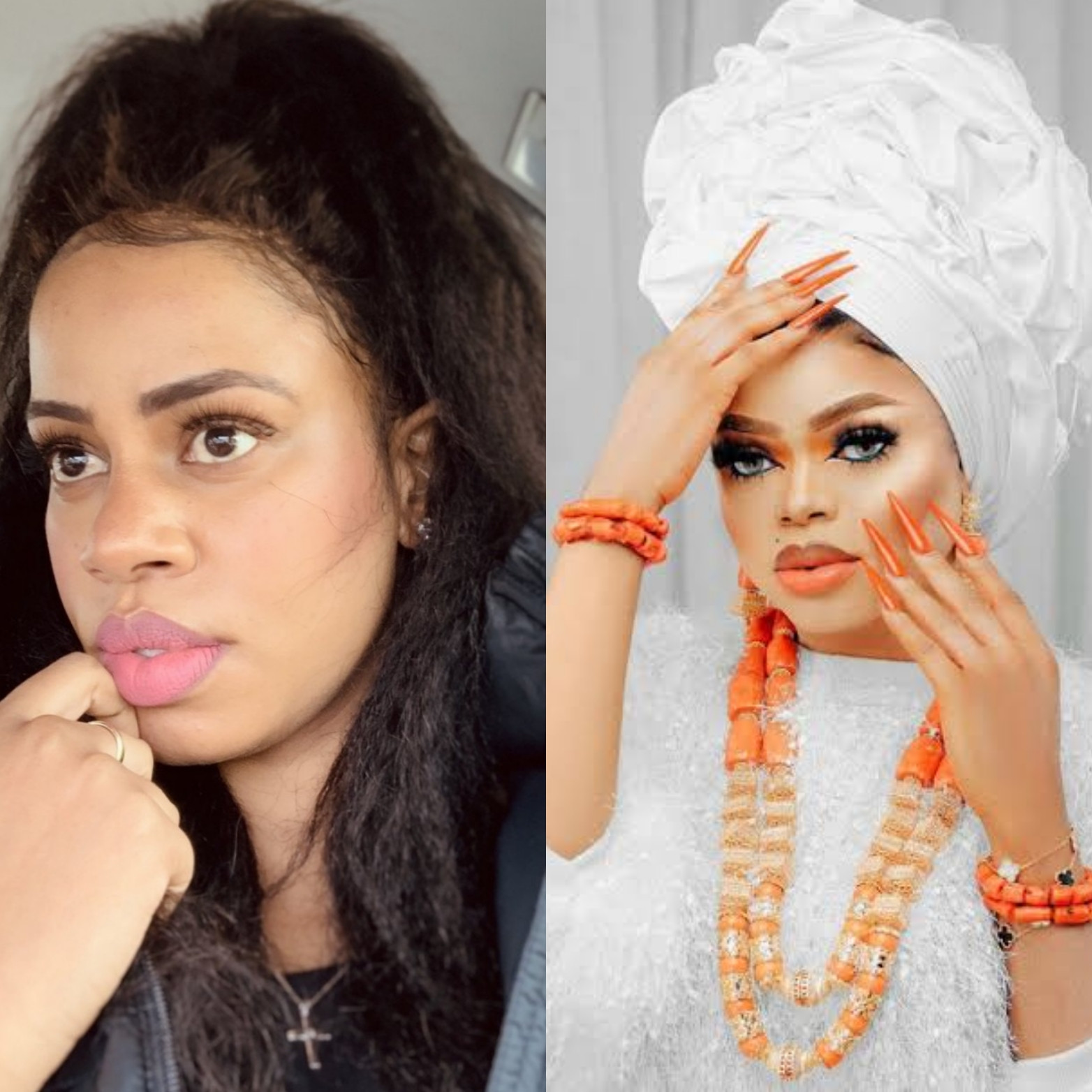 """""""Everything Oye said is true"""" Singer Daffy Blanco says as she spills more about Bobrisky and Mompha"""