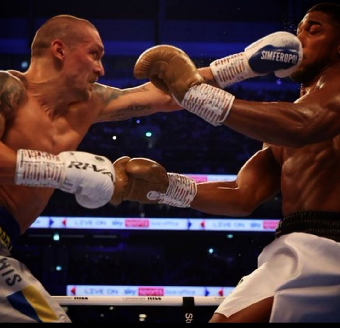 Anthony Joshua suffers second defeat of his career as Oleksandr Usyk beat him in London to become new heavyweight champion (photos)