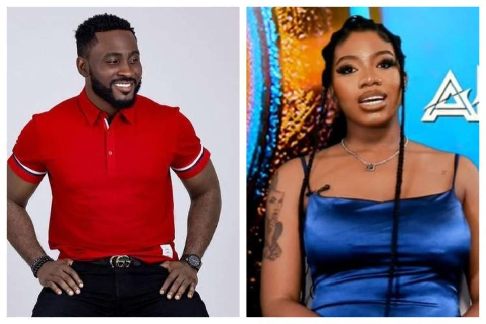 #BBNaija: Pere and Angel sent to the white room to battle for last spot in the top 5