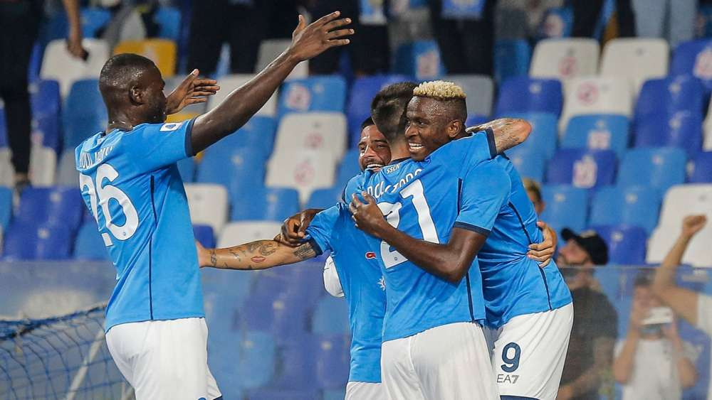 In-form Victor Osimhen scores again as Napoli climb to the top of Serie A