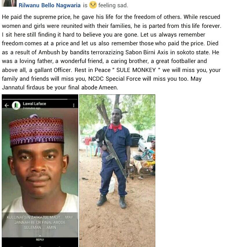 15 killed as bandits attack joint military base in Sokoto
