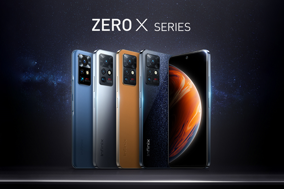 Infinix Launches Groundbreaking New ZERO X Series with Super Moon Mode Camera