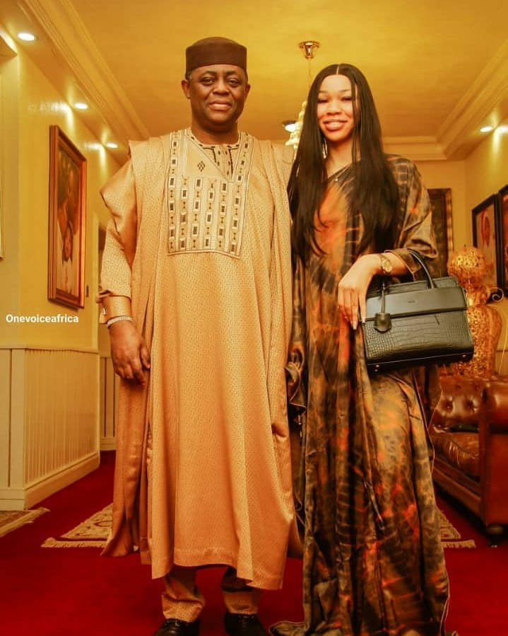 FFK shares lovely photos of himself and his woman, Nerita