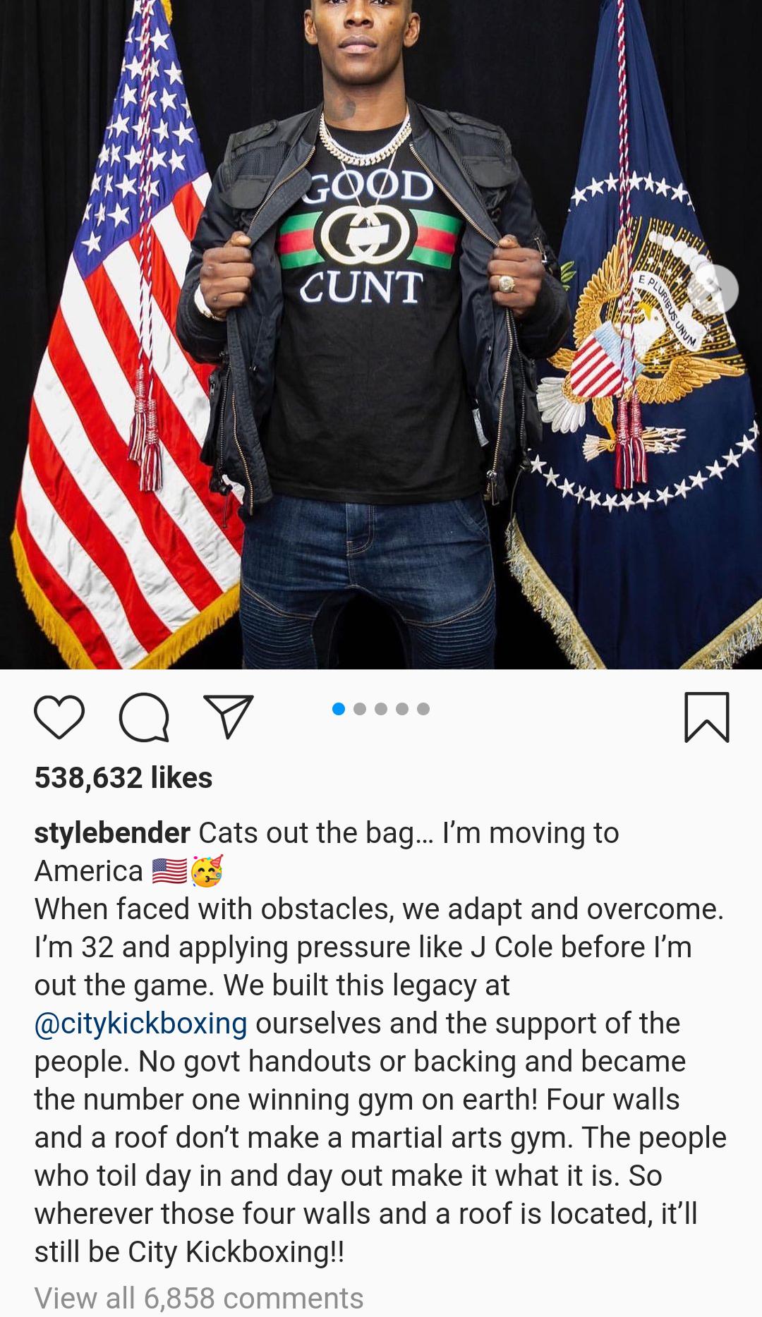 UFC champion Israel Adesanya hints at relocating to US from New Zealand