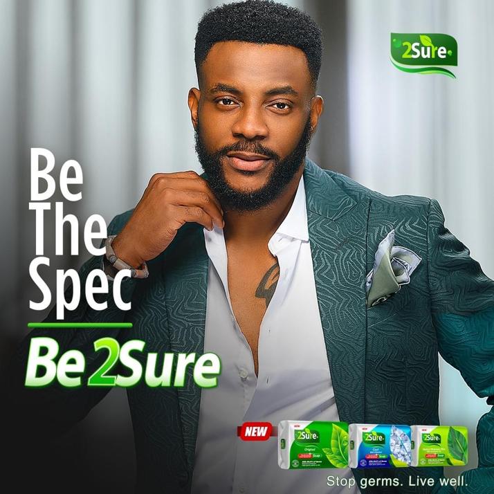2Sure Nigeria Launches New Antibacterial Soap, Unveils Reality TV Star Ebuka as Brand Ambassador