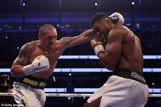 Anthony Joshua activates his rematch clause to fight Oleksandr Usyk