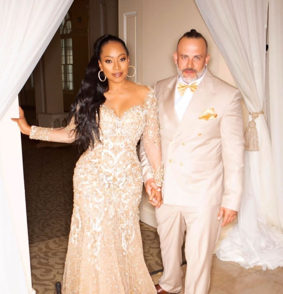Neyo's ex-fiancee, Monyetta Shaw shares lovely photos from her engagement party