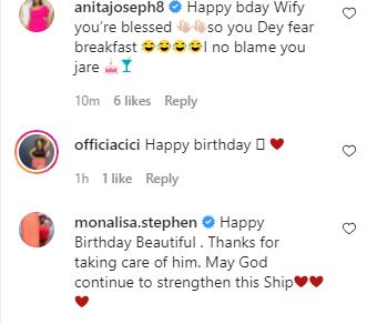 Instagram comedian, Isbae U confirms he is dating colleague Kemz Mama 'Mummy Wa' in birthday post 2