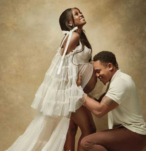 Actor and singer, Rotimi and fiancee Vanessa Mdee welcome their first child