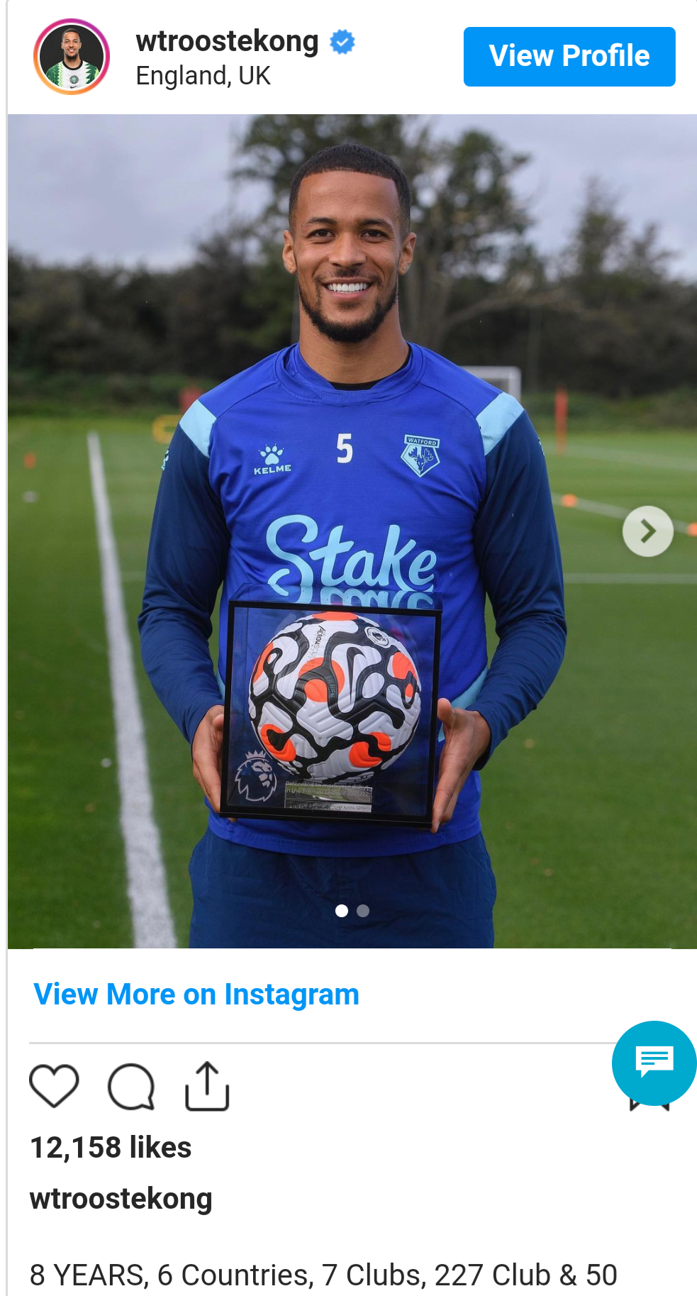 I was told I was not good enough for the Premier League - Super Eagles star Williams Troost Ekong reflects on his time at former club, Tottenham