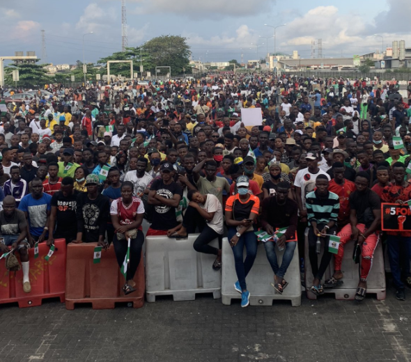 No live bullet was fired by the military at Lekki toll gate during End SARS protest