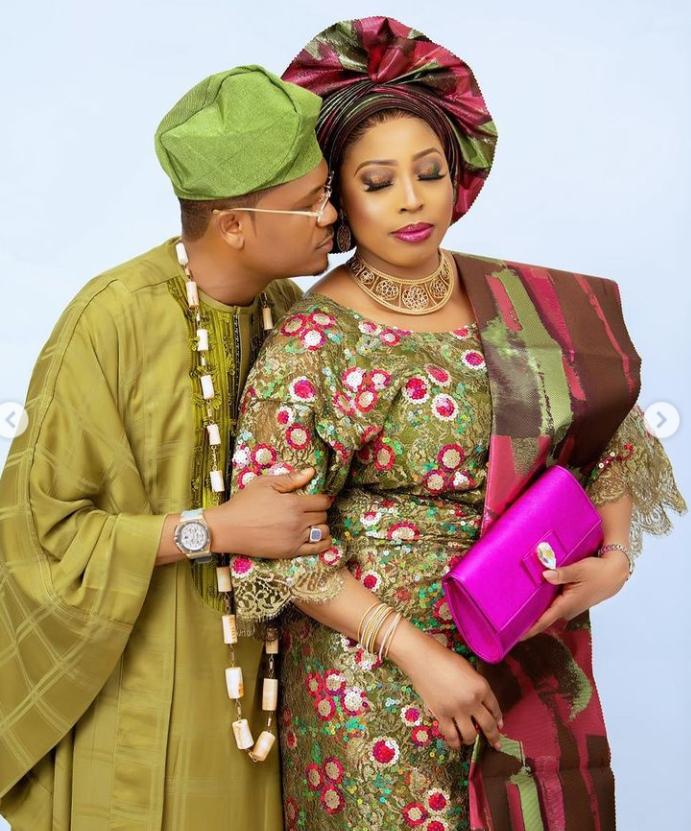 Shina Peller celebrates 16th wedding anniversary with wife, Ayobola