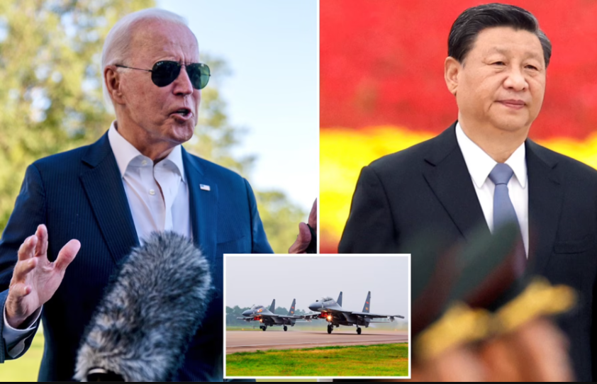US warns China to stop provoking Taiwan after Beijing sent 77 aircraft including nuclear bombers into island