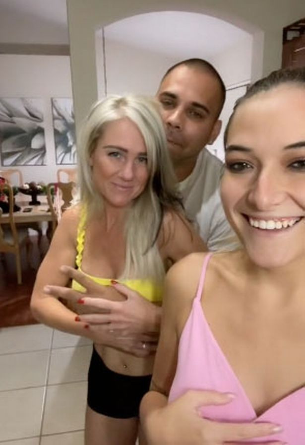 Woman reveals she shares her husband with her mum and sister to keep him happy