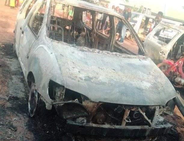 Two security personnel killed, patrol vehicles burnt as gunmen attack vigilante office in Enugu community