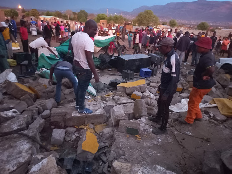 Four people die as wall collapses during payment of bride price ceremony