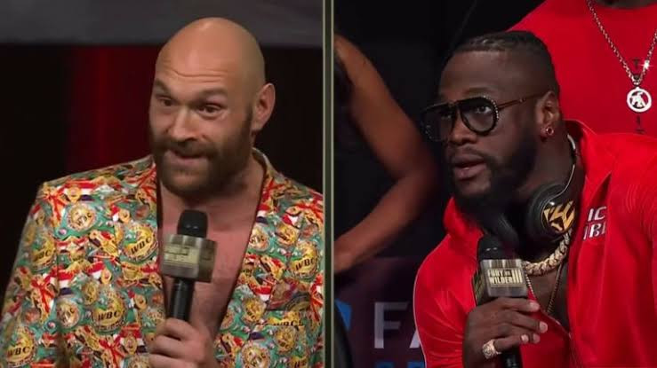 Watch Tyson Fury and Deontay Wilder berate and verbally attack each other in final press conference before fight (video)