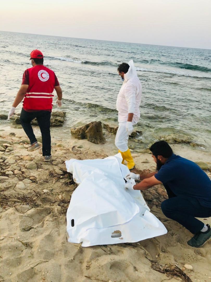 Bodies of 17 Europe-bound migrants wash ashore in Libya (photos)