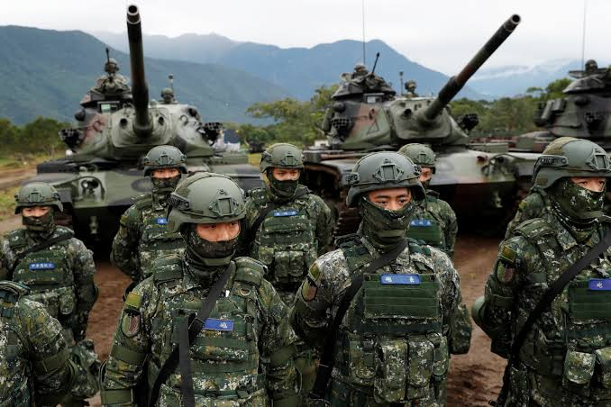 China could be ready to mount a full-scale invasion by 2025, Taiwan defense minister says