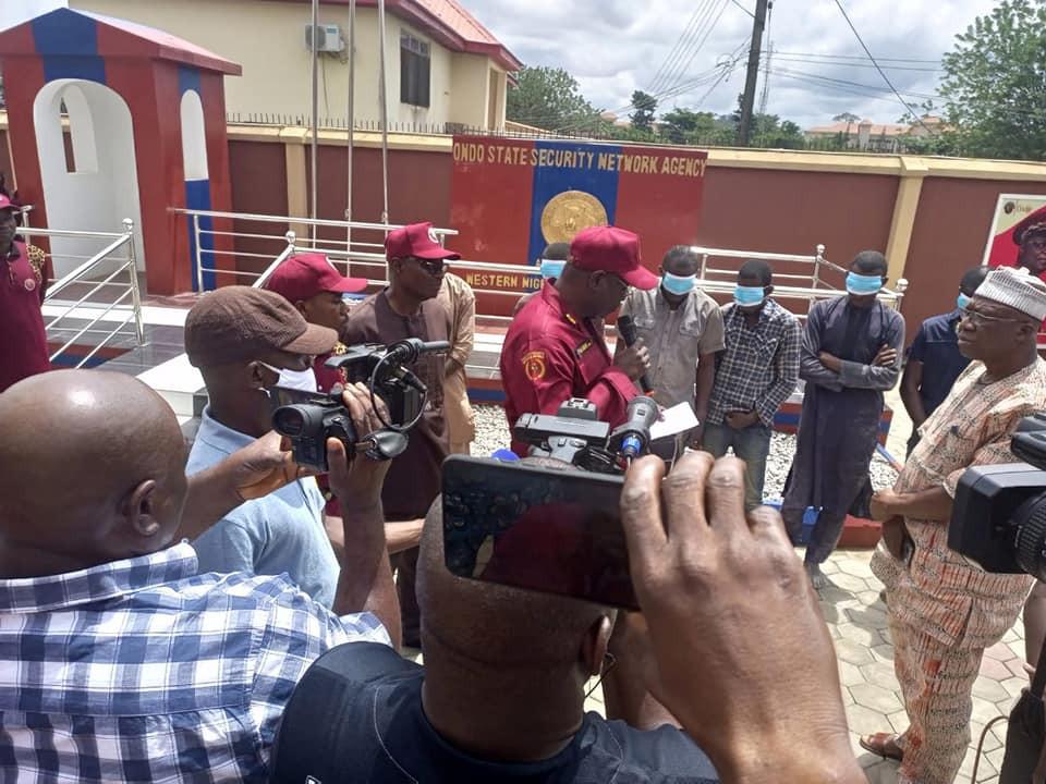 Ondo Amotekun kills suspected kidnapper, rescues kidnapped victim