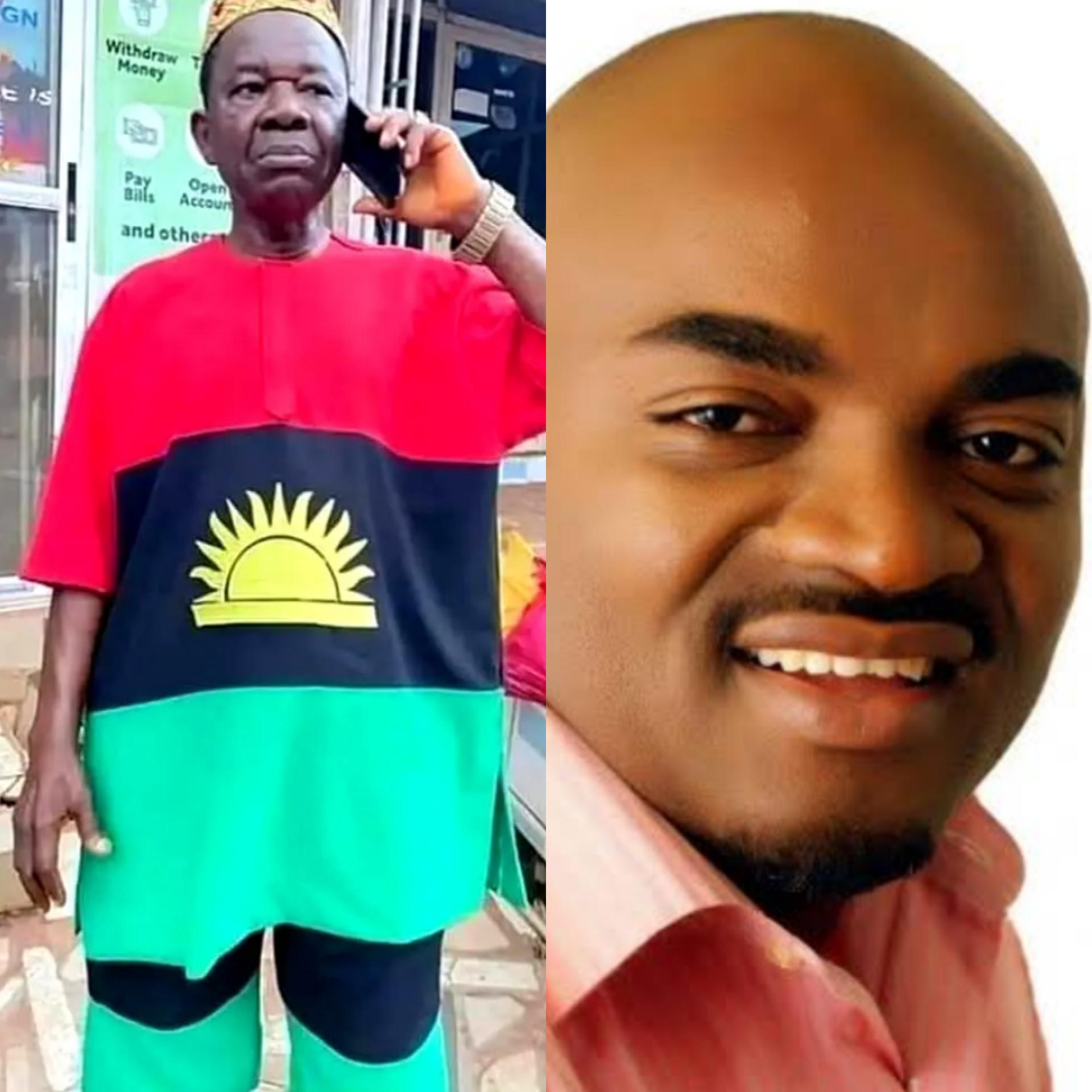 ?I don?t know why he put on Biafra regalia