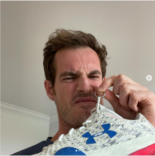 Tennis star, Andy Murray reunited with his stolen wedding ring and smelly trainers