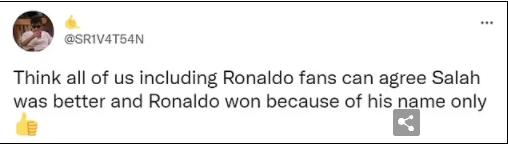 Cristiano Ronaldo named Premier League