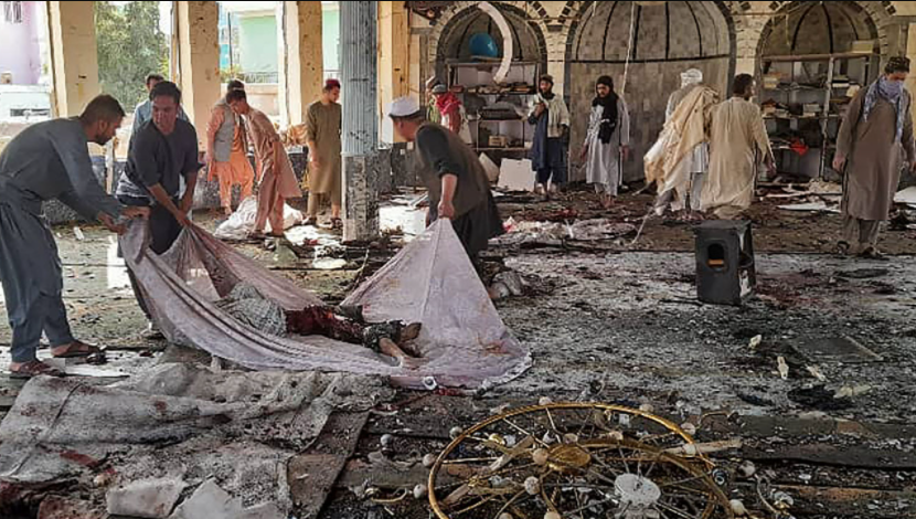 Bomb kills at least 50 at Shiite mosque in Afghanistan