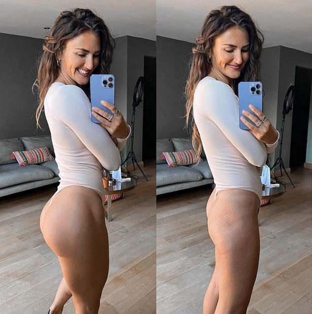 Influencer reveals what her butt really looks like when she isn